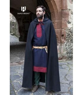 Strato medievale di lana Hibernus, nero