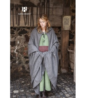 Strato medievale di lana Hibernus, grigio
