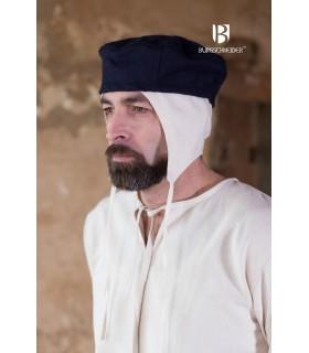 Cappello medievale Hugo, blu