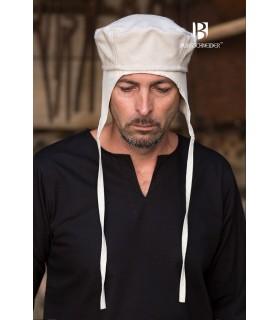 Cappello medievale Hugo, crema