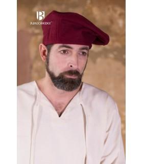 Cappello rinascimento Harald, Rosso