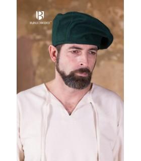 Cappello rinascimento Harald, verde