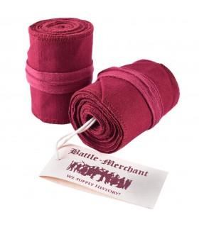 Calze Filettato Medievale Rosso