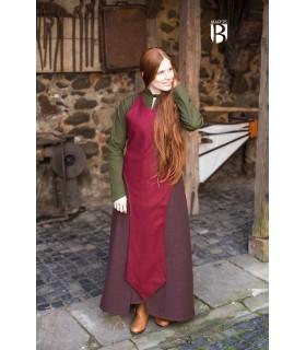 Grembiule medievale Grembiule rosso di lana