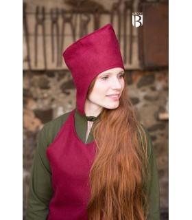 Cappello del mago addio, rosso lana