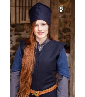 Cappello del mago addio, lana blu