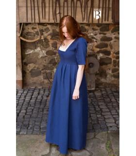 Abito medievale Frideswinde, blu