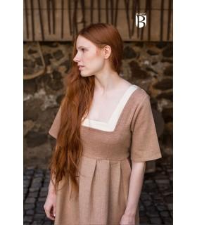 Abito medievale Frideswinde, beige
