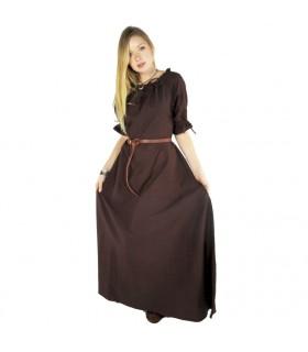 Abito medievale Karen, marrone