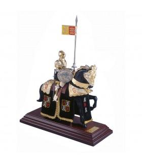 Armatura Casco equitazione inglese nero