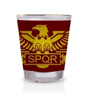 Colpo di vetro Legione Romana SPQR