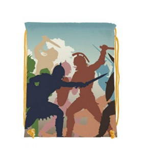 Zaino stringa di Combattere i Gladiatori (cm 34x42.)