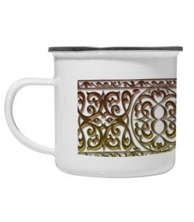 Coppa in ottone Vintage Valance Medievale
