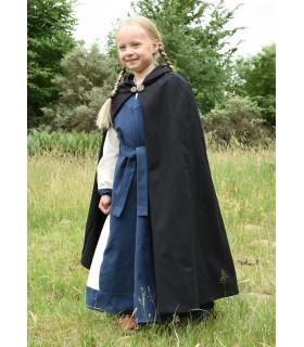 Strato medievale per bambini, nero