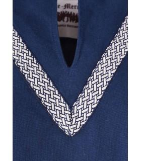 Tunica medievale Ailrik blu