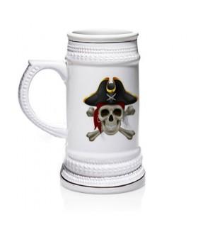 Boccale di birra Pirati dei Caraibi