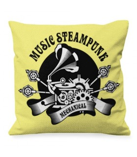 Cuscino, Design, Musica, SteamPunk