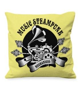 Cuscino, Design, Musica, SteamPunk
