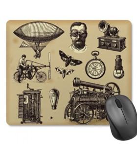 Tappetino Mouse Rettangolare SteamPunk (23,5x19,5 cm)