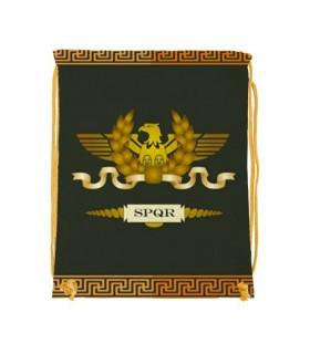 Zaino stringa Legione Romana SPQR (cm 34x42.)