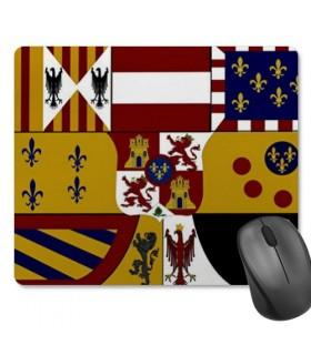 Tappetino Mouse Rettangolare Scudo Medievale (23,5x19,5 cm)