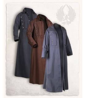 Mantello medievale Kandor, marrone