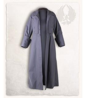 Mantello medievale Kandor, grigio