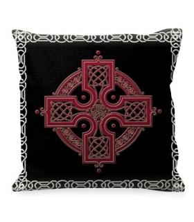 Cuscino con il simbolo della Croce Celtica