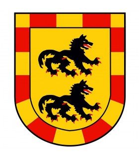 Banner Drago Medievale (120x100 cm.)