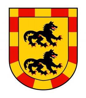Stendardo Drago Medievale (120x100 cm.)