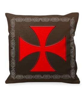 Cuscino Croce Di Malta Cavalieri Templari