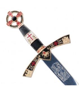 Pugnale decorato Cavaliere Templare