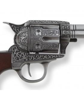 Revolver Colt 45 Pacificatore decorazione, 27 cms.