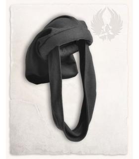 Cappello Medievale-Rafael in nero, Unisex