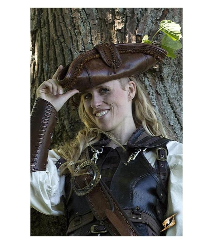 Pirate hat. Cappelli-Cappelli - complementi. Negozio Medievale 40992d66681