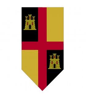 Banner Medievale Croce con Castelli