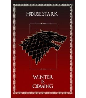 Banner Gioco di Troni della Casa Stark (75x115 cm.)