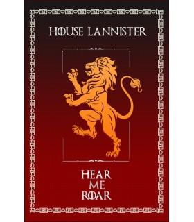 Banner Game of Thrones Casa Lannister (75x115 cm.)
