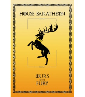 Banner Game of Thrones Casa Baratheon (75x115 cm.)