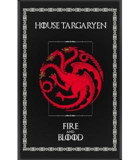 Banner Game of Thrones Casa Targaryen (75x115 cm.)