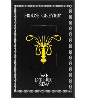 Banner Game of Thrones Casa GreyJoy (75x115 cm.)