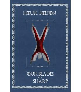 Banner Game of Thrones Casa Bolton (75x115 cm.)