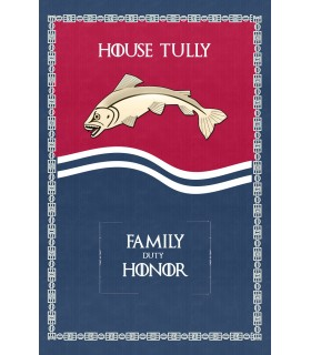 Banner Game of Thrones Casa Tully (75x115 cm.)