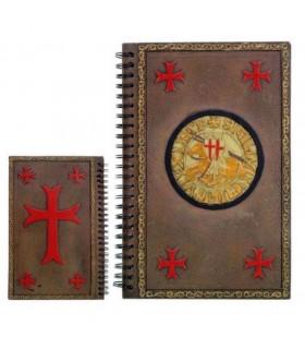 Appunti all'ordine del giorno con il sigillo dei Cavalieri Templari