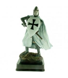 Miniatura Cavaliere Guerriero Teutonico Scudo, 23 cms.
