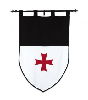 Banner Templari, il bianco e il nero