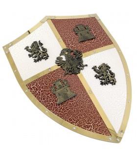 Scudo di Castiglia e León