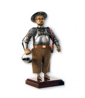 Figura Sancho Panza, un rustico