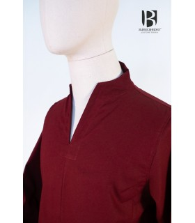 Tunica medievale breve Ekwin, rosso