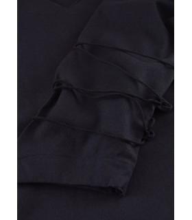 Blusa medievale Aila, nero